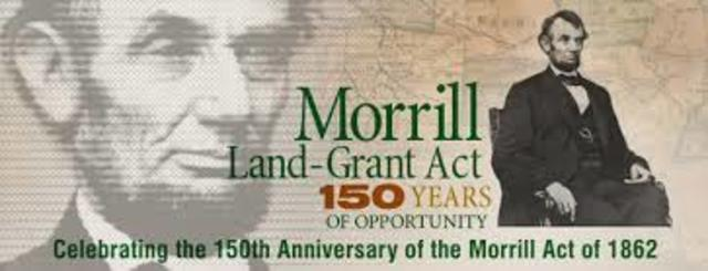 FIRST MORRIL ACT
