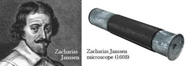 Se crea el primer microscopio