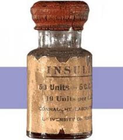 Insulina creada por una bacteria