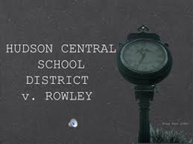 HUDSON CENTRAL SCHOOL DISTRICT V. ROWLEY