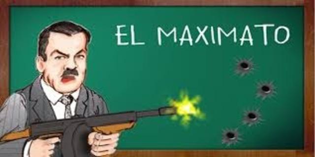 Primer gobierno del Maximato.