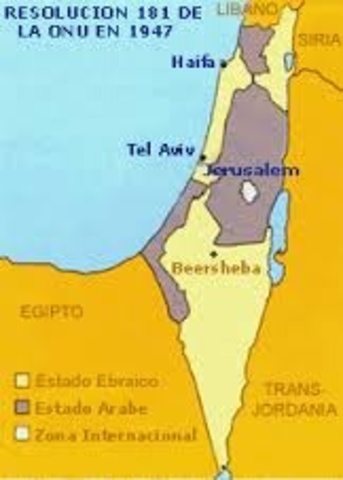 Surge el estado de Israel.