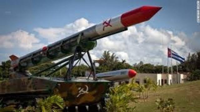 Misiles en Cuba.