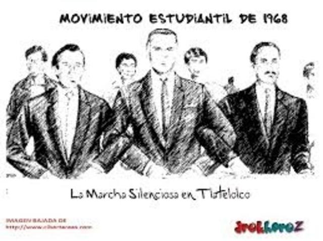 Movimiento Estudiantil de Tlatelolco.