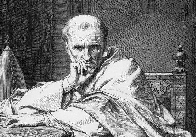 Pave Gregor 7. (ca. 1020-1085) blev valgt til pave i 1073.