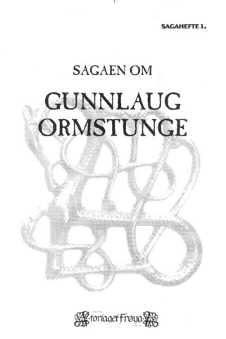 Gunlaug Ormstunges Saga