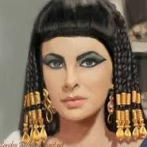 31 B.C. Queen Cleopatra