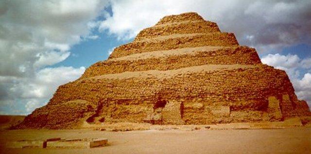 2650 B.C. Egypt's First Step Pryamid
