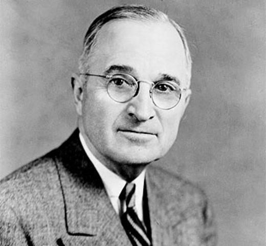 Sube al poder Truman