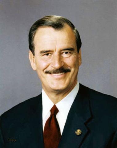 Inicio gobierno Vicente Fox