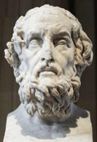 Early  Greek Poets and Writers 700 BCE -500 BCE