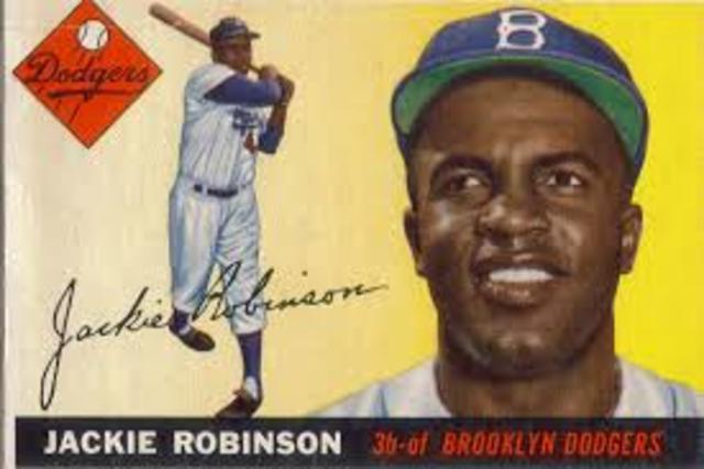 Jackie Robinson (1919- 1972)