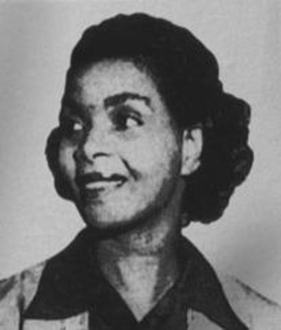Irene Morgan (1917- 2007)