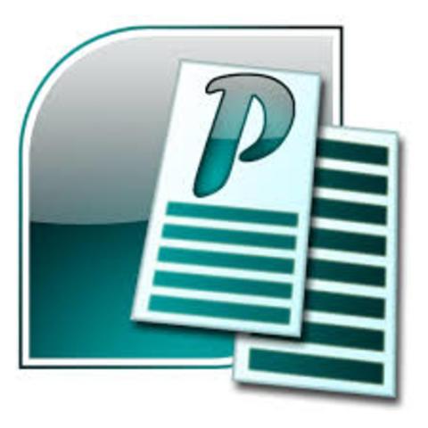 En Estados Unidos se crea la primera versión de Microsoft Publisher.