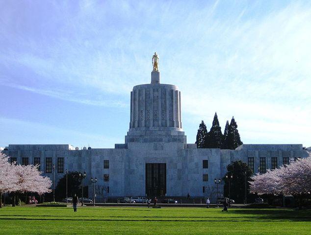 El Capitolio del Estado de Oregon