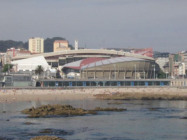 El Palacio de los Deportes de Riazor