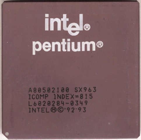 intel lanza sus procesadores pentium