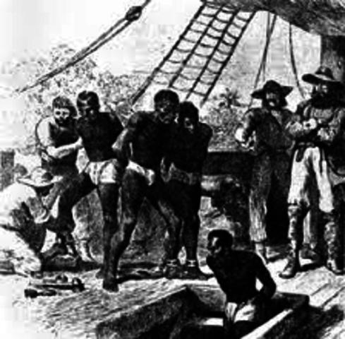 Slavery Begins