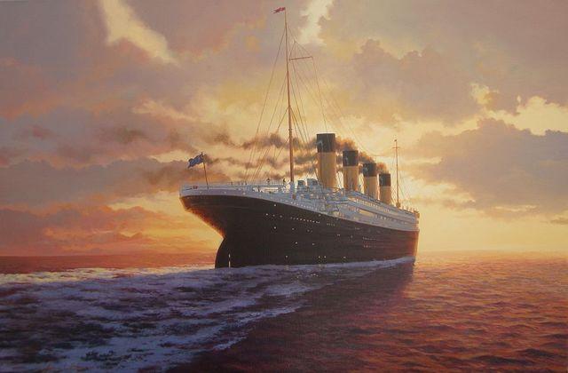 RMS Titanic sank