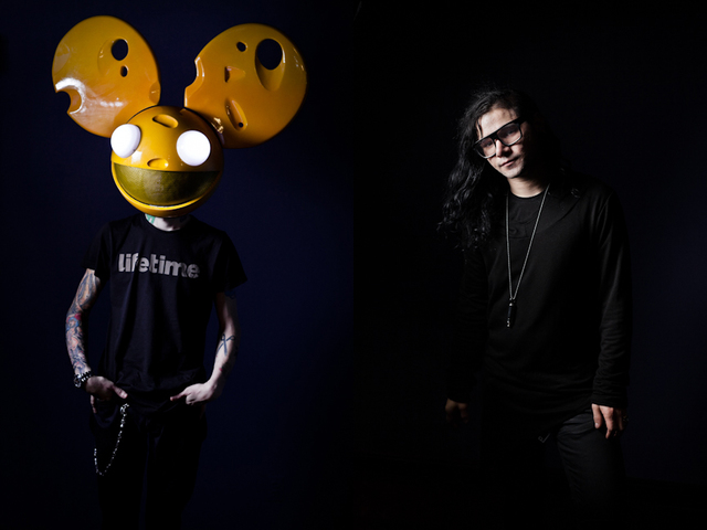 Skrillex signs with mau5trap recordings, tours with deadmau5