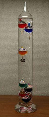 Invencion del termometro de agua