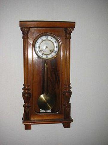 Invencion del reloj de pendulo