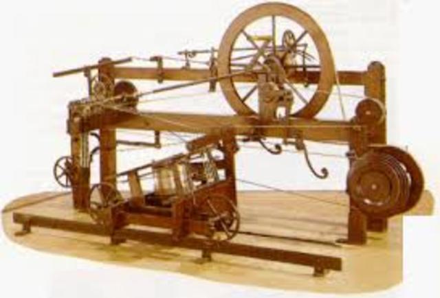 Invencion del telar mecanico