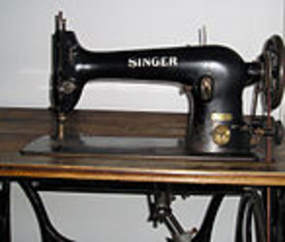 Invencion de la maquina de coser