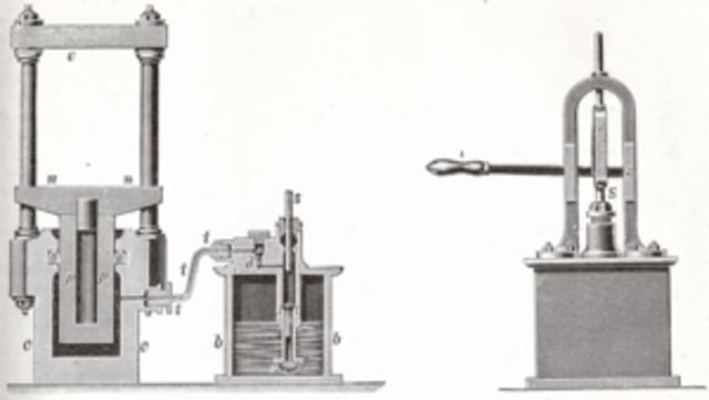 Invencion de la prensa hidraulica