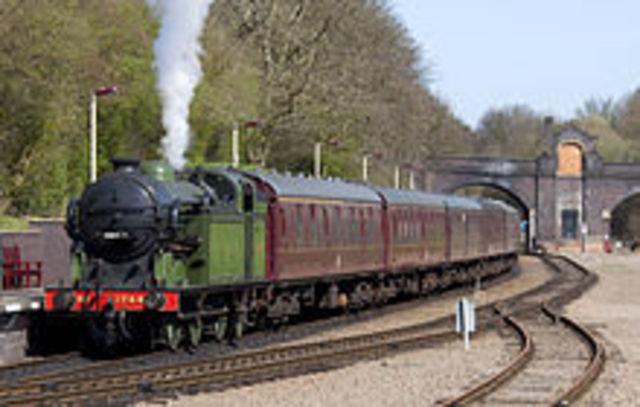Invencion de la locomotora a vapor