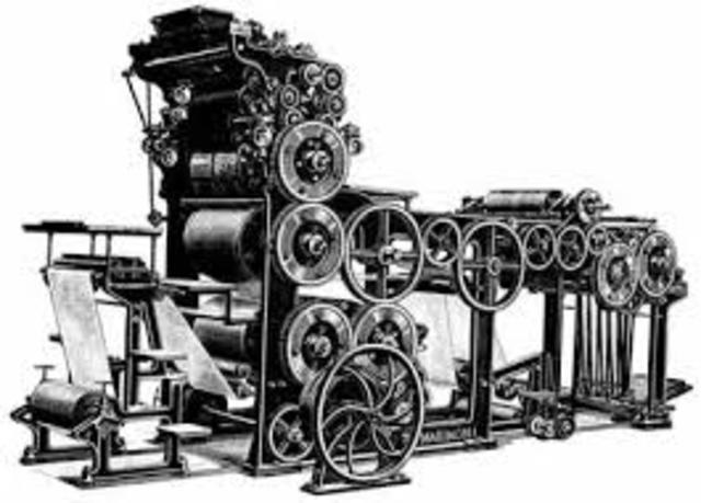 Invencion de prensa de imprimir