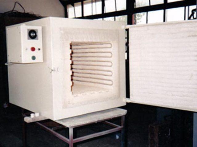 Invencion del horno termico