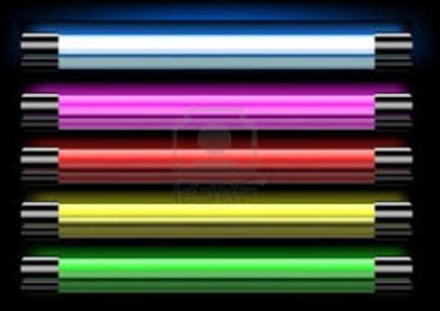 Invencion de la lampara neon