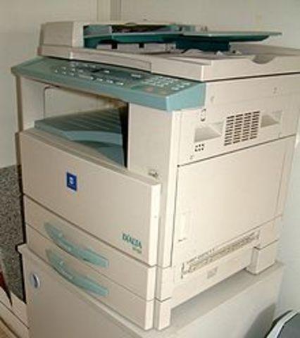 invencion de la fotocopiadora