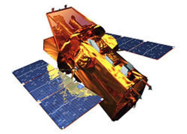 Invencio del satelite