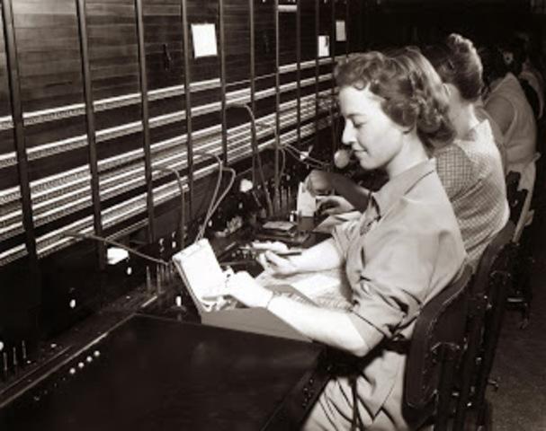 Incorporación femenina al trabajo industrial.