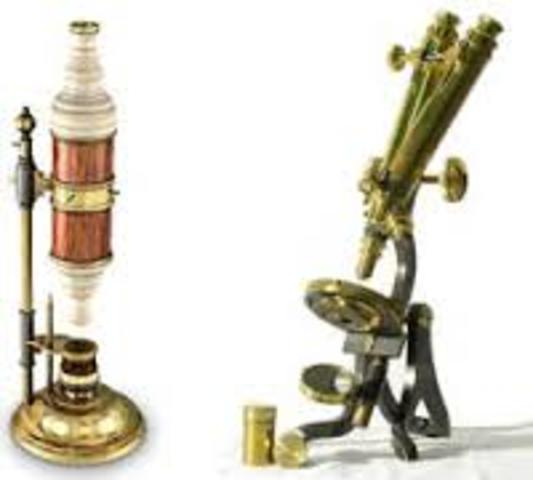 primeros microscopios