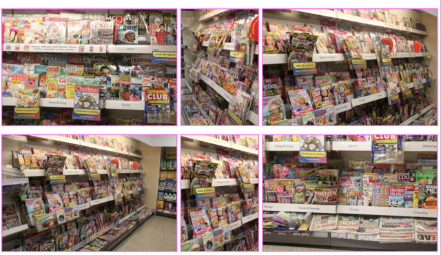 Music Magazines in a Shop