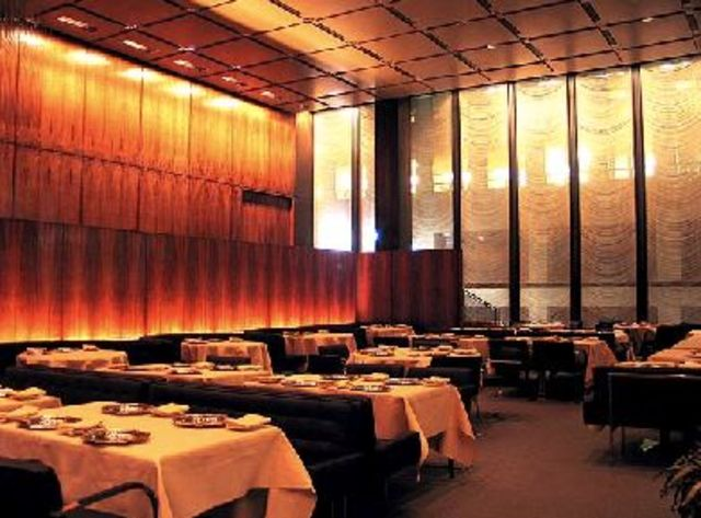 New York City, Dinner at The Four Seaons