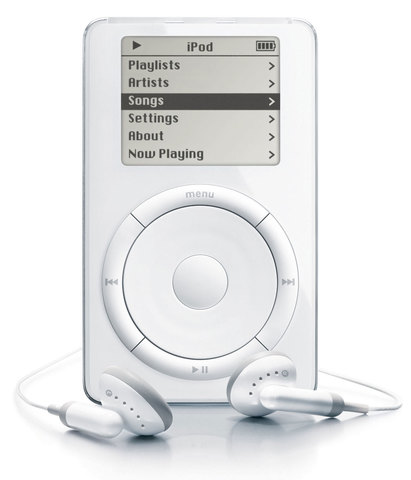 iPod released