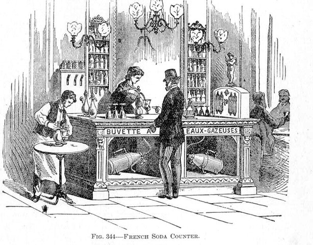 Samuel Fahnestock is Granted First Patent for Soda Fountain