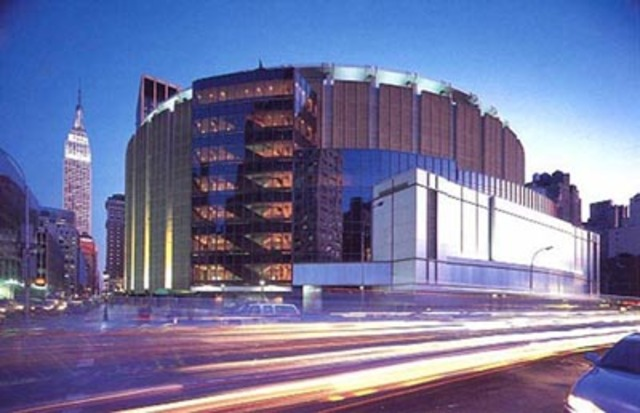 New York City, Concert at Madison Square Garden