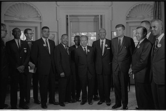 MLK Meets with JFK
