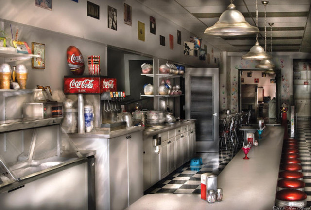 Decline of the Soda Sountain Shop