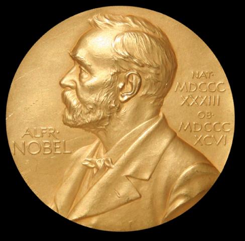 Elie Wiesel recieves nobel peace prize