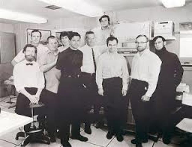 Se creó la prime red de computadoras de la historia