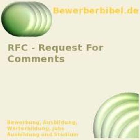 se empieza a editar los primeros RFC (Request For Comments