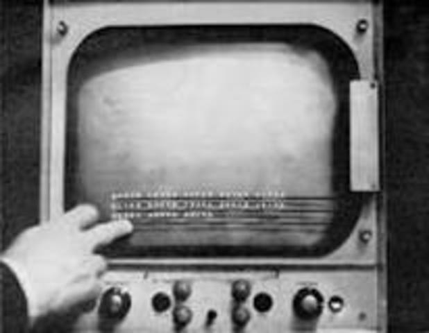 First touch-screen device