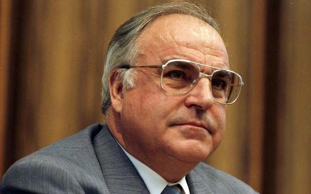 Chancellor Helmut Kohl