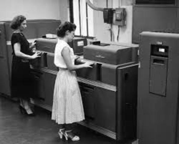 1946: Mauchly and Presper leave the University of Pennsylvania and receive funding from the Census Bureau to build the UNIVAC, the first commercial computer for business and government applications.